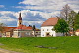 Town of Koprivnica historic architecture