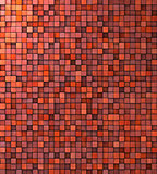 grungy mosaic wall in red pink orange
