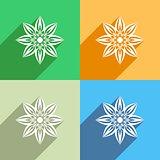Flower icon Menu icon