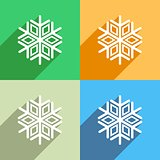Snowflake icon Menu icon