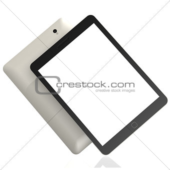 Blank slanted tablet
