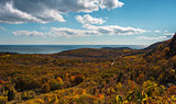 Autumn foliage in Acadia National Park