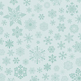 new year background with snowflake