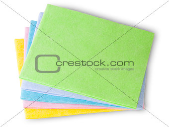 Multicolored Cleaning Cloths