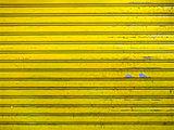 grunge bright yellow roller shutter door texture background