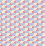Retro pattern of geometric shapes. Colorful mosaic backdrop.