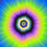 Explosion in Yellow and Violet