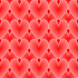 Design seamless colorful heart pattern
