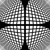 Design monochrome checked geometric pattern