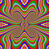 Design multicolor twirl rotation background