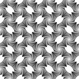 Design seamless vortex geometric pattern