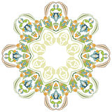 circular floral background two