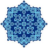 circular islamic background one