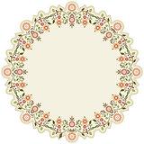 circular islamic background six