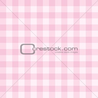 Tile vector pink plaid pattern or seamless background