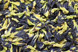 dried butterfly pea flowers