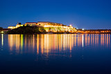 Petrovaradin fortress at night