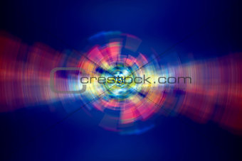 Abstract digital lights background