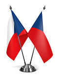 Czech Republic - Miniature Flags.