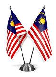 Malaysia - Miniature Flags.