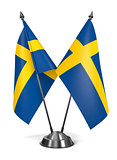 Sweden - Miniature Flags.