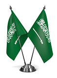 Saudi Arabia  - Miniature Flags.