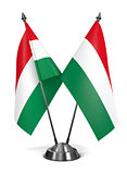 Hungary - Miniature Flags.