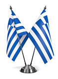 Greece - Miniature Flags.