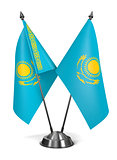Kazakhstan - Miniature Flags.