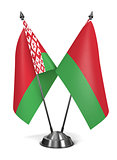 Belarus - Miniature Flags.