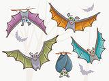 Set of bats.