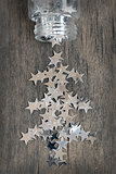 silver stars for christmas