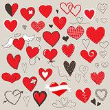 Hearts set