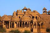Bada Bagh Cenotaph jaisalmer rajasthan state india