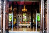 buddha altar Jim Thompson House museum bangkok Thailand