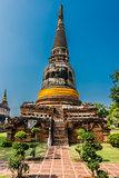 Wat Yai Chai Mongkhon Ayutthaya bangkok Thailand