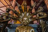 buddha statue portrait Wat Yai Chai Mongkhon Ayutthaya bangkok T