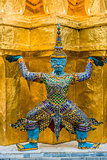 yaksha demon grand palace bangkok Thailand