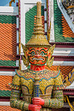 giant demon yaksha Atsakanmala grand palace bangkok Thailand