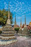 temple interior Wat Pho temple bangkok Thailand