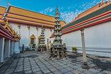 interior Wat Pho temple bangkok Thailand