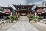 Chi Lin Nunnery courtyard Kowloon Hong Kong