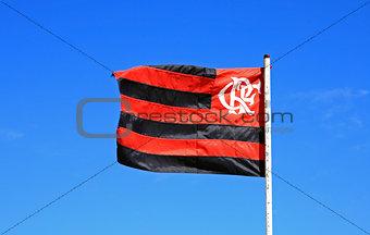Flamengo Flag Rio de Janeiro Brazil