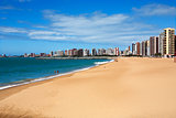 beach of fortaleza ceara brazil