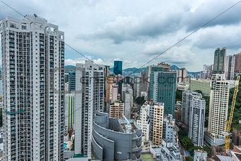cityscape Causeway Bay Hong Kong