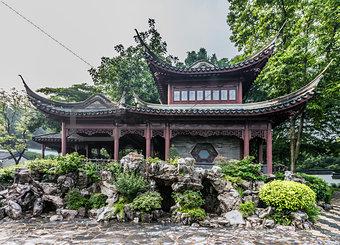 pagoda temple Kowloon Walled City Park Hong Kong