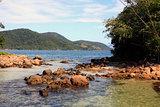 lagoa azul ilha grande rio de janeiro state brazil