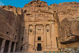 Urn Tomb in Nabatean city of  Petra Jordan