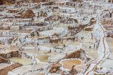 Maras salt mines peruvian Andes  Cuzco Peru