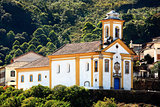 Ouro Preto church Minas Gerais Brazil